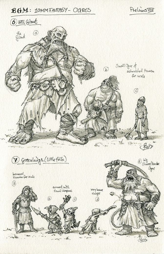 Hill Giant and some Greenlings
