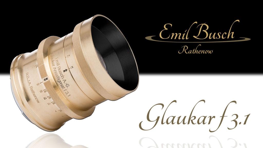 Beautiful 1910 Emil Busch Glaukar 3.1 Anastigmat Lens Return project video thumbnail