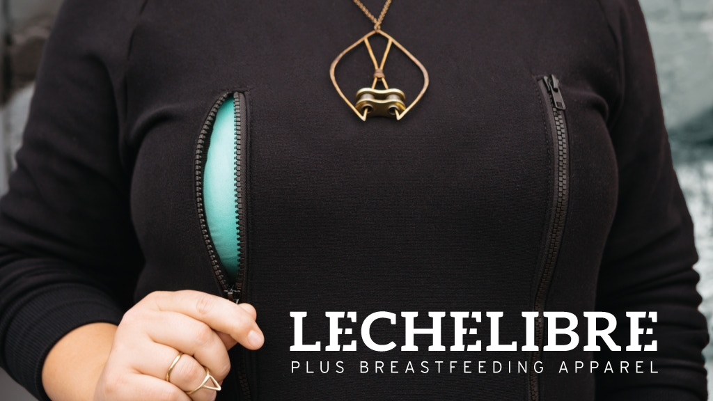 Leche Libre Plus Size Breastfeeding Apparel Collection project video thumbnail