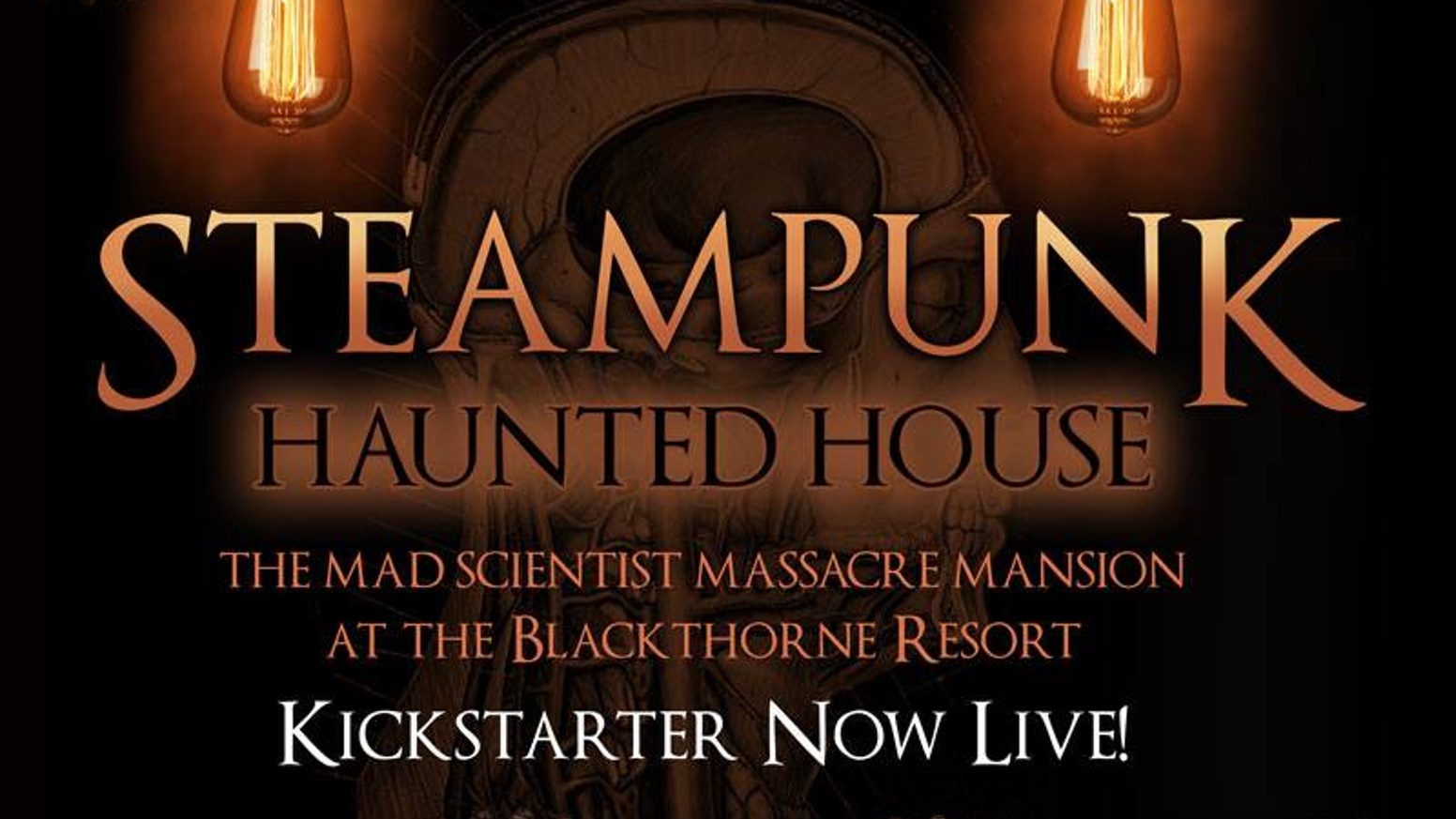 Steampunk Haunted House: Halloween Forever! by Jeff Mach » We're