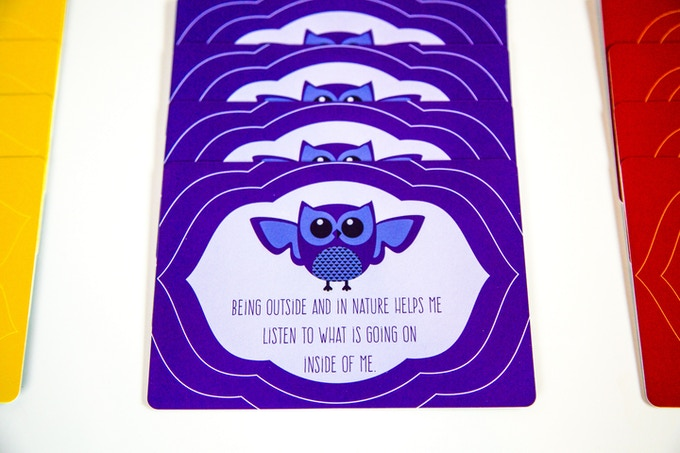 Owl's messages invite kids to tune in and trust their intuition; a theme explored in both PeaceMakers and the Time-In ToolKit.