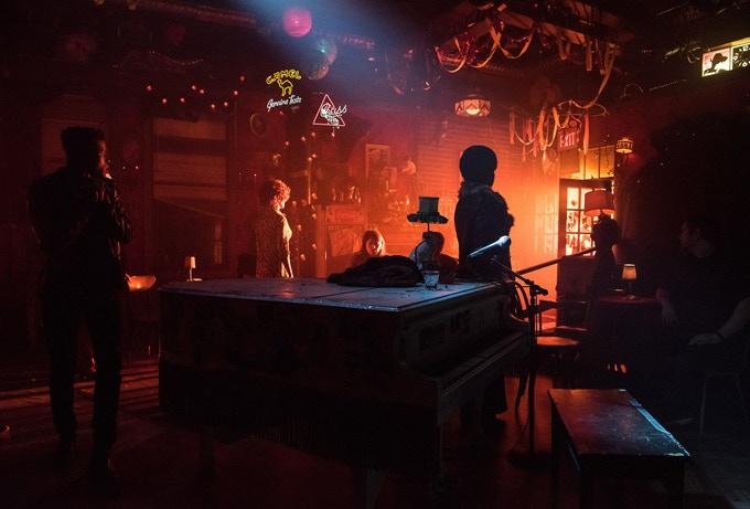 "Jason Sherwood's immersive scenic design for ""The View UpStairs"" Off-Broadway. Photo credit: Kurt Sneddon"