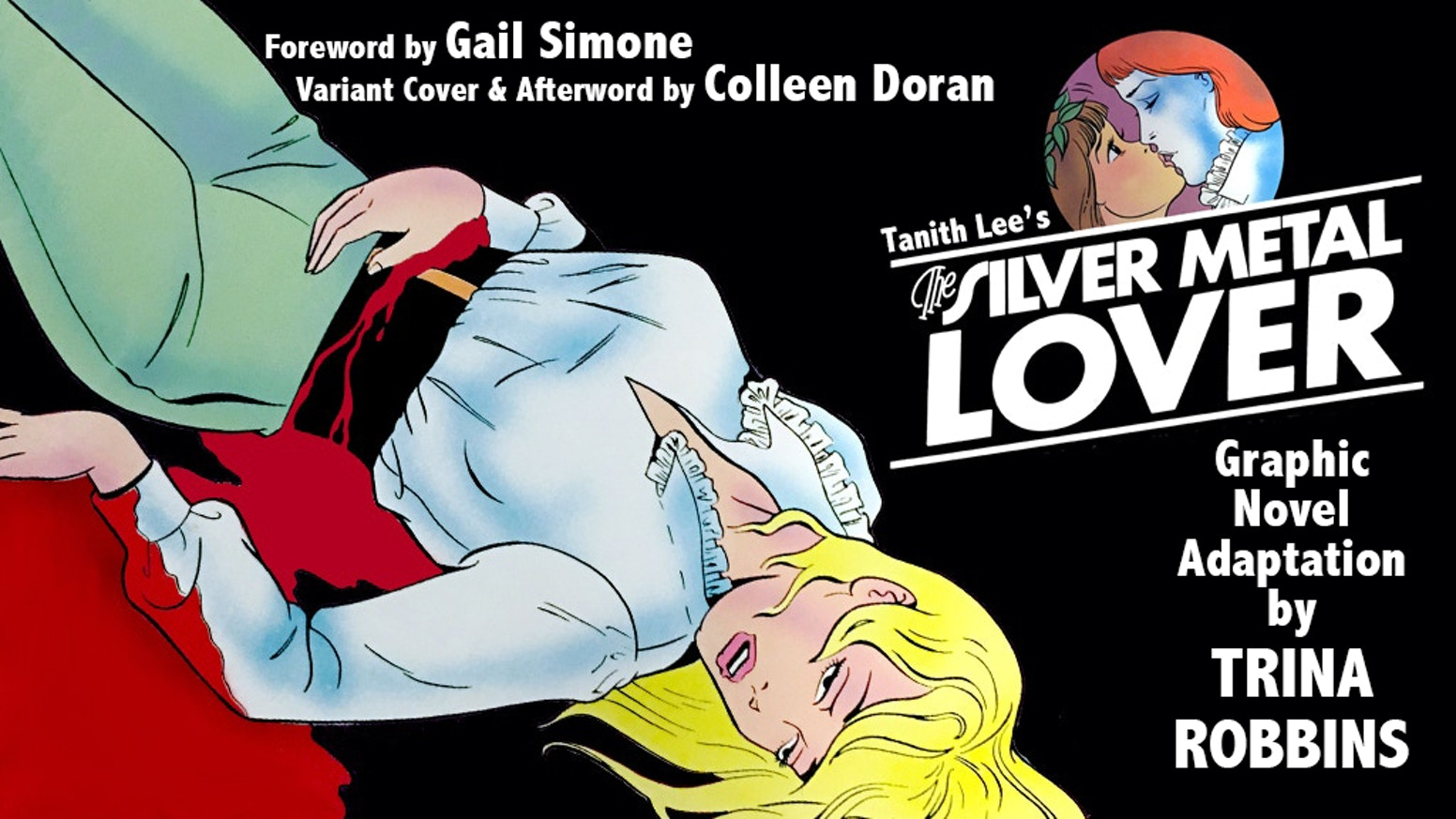 Tanith Lee's Silver Metal Lover by Trina Robbins