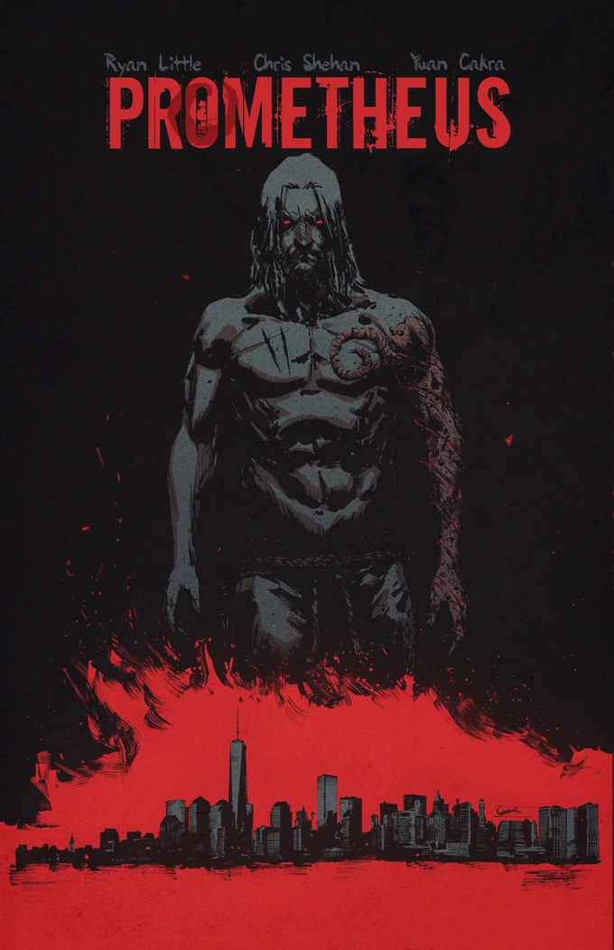 Cover for Prometheus #1 used for prints