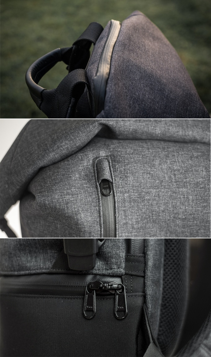 Equipped with YKK Stormguard zippers