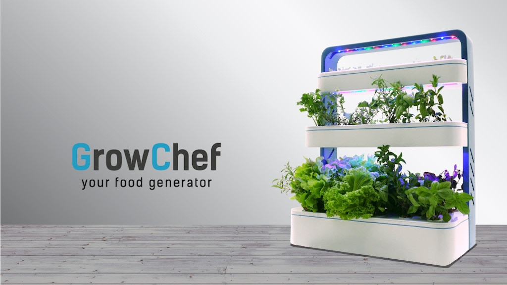 GrowChef - a pod of greens every single day! project video thumbnail