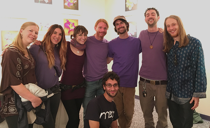 JP Sears with members of the Post-Jaded Team and Friends