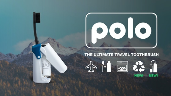 POLO - The Ultimate Travel Toothbrush