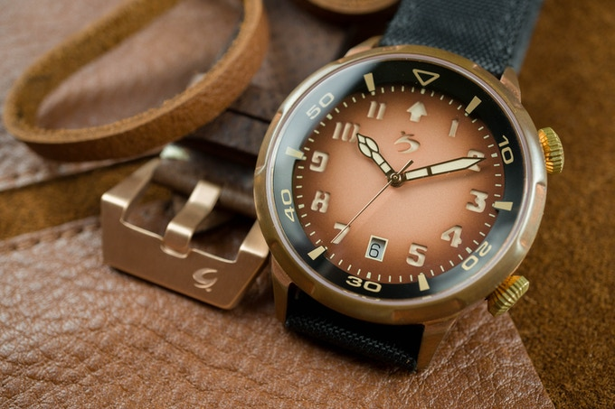 Genuine Italian leather strap, just add AUD 30 to your pledge to get this awesome 1 pc strap