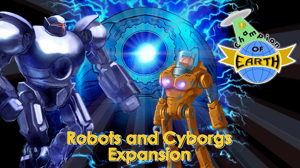Champion of Earth: Aliens & their Robot slaves are invading! project video thumbnail