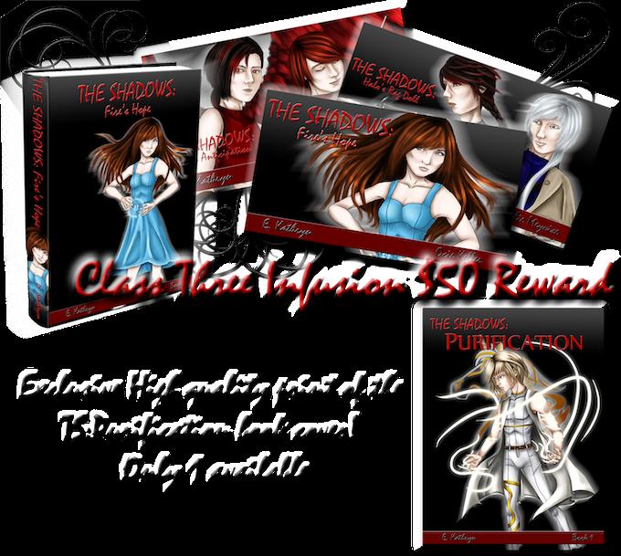 Class Three Infusion $50 TS:Purification print