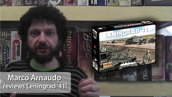 Re-play the WW2 struggle for Leningrad during the Barbarossa Campaign in VentoNuovo's medium complexity wargame.