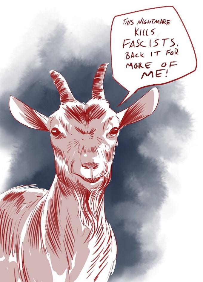 Goat courtesy of Kelly Williams