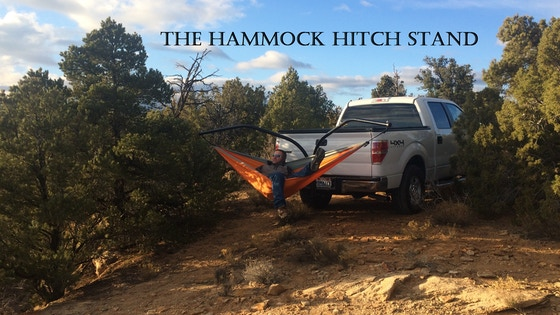 The Hammock Hitch Stand