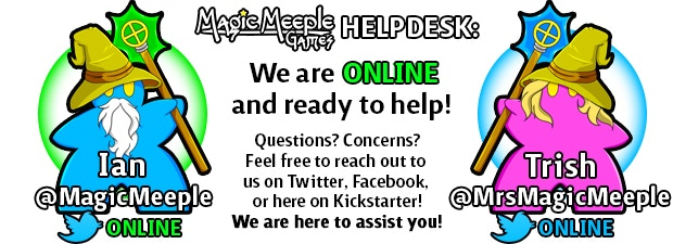 Questions? We're here to help! We aim to have 24-hour or less response time to all inquiries during the campaign!