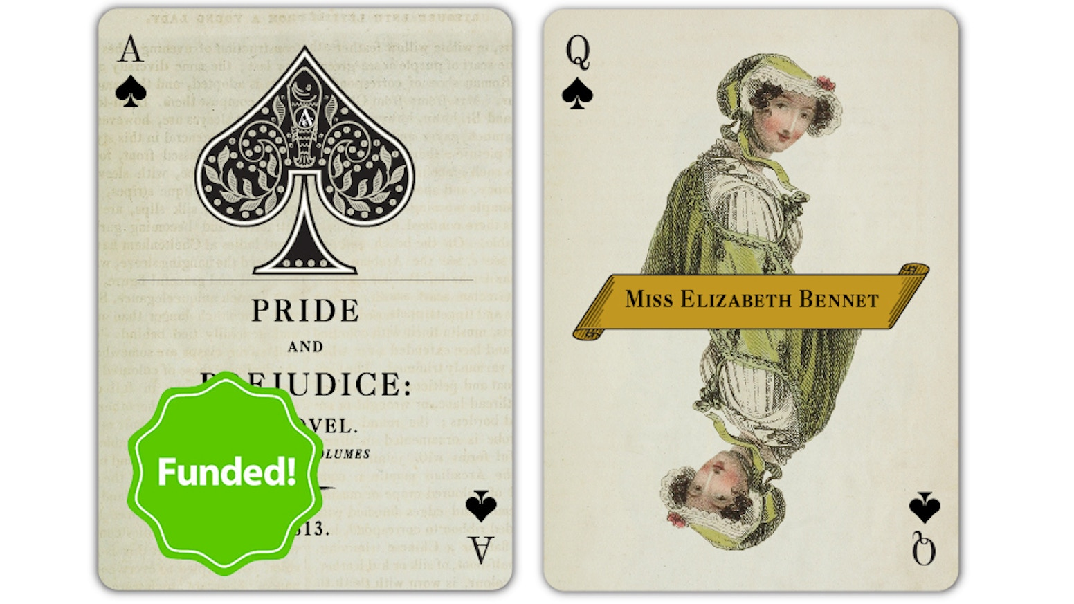 A fully custom deck of playing cards inspired by Jane Austen's well-loved novels and characters, and rich in authentic period detail. Missed the campaign?