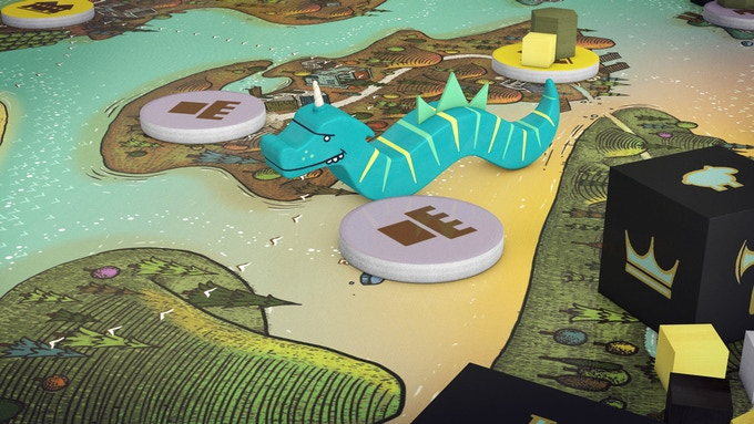 The sea serpent is called upon to stall the Queen's Army
