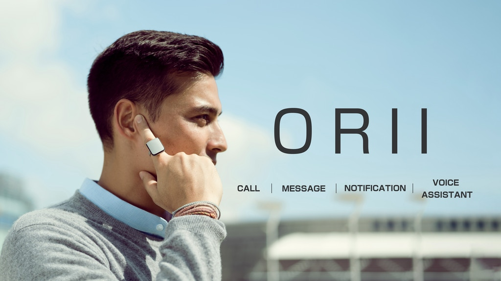 ORII - The Fastest Way to Send Messages Without a Screen project video thumbnail