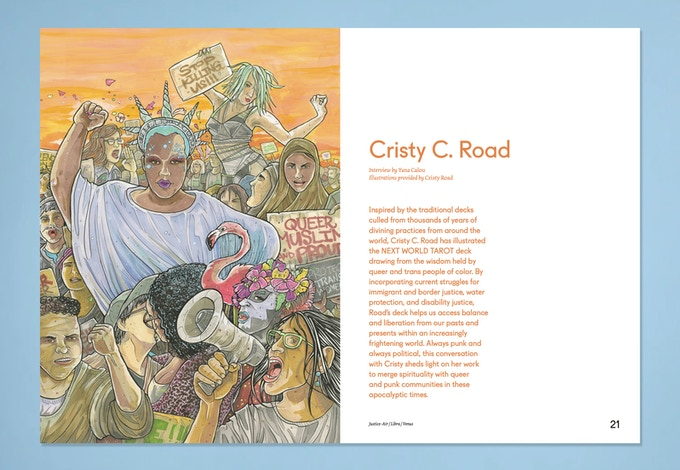 "Cristy Road and ""New World Tarot"""