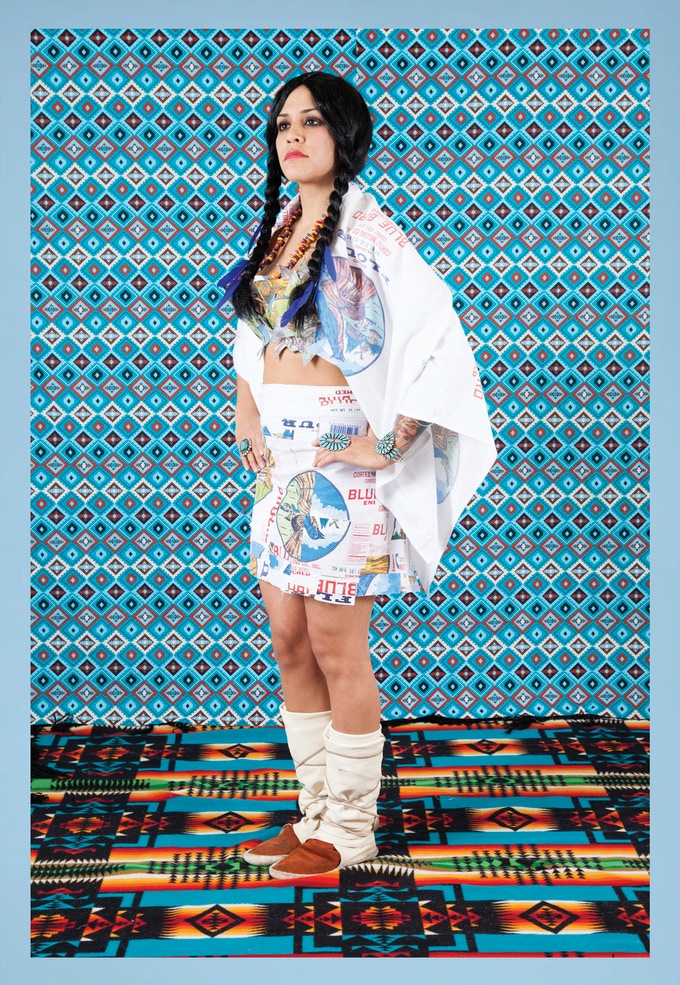 Emma Robbins (Navajo/Jewish indigenous peoples activist, artist, educator)