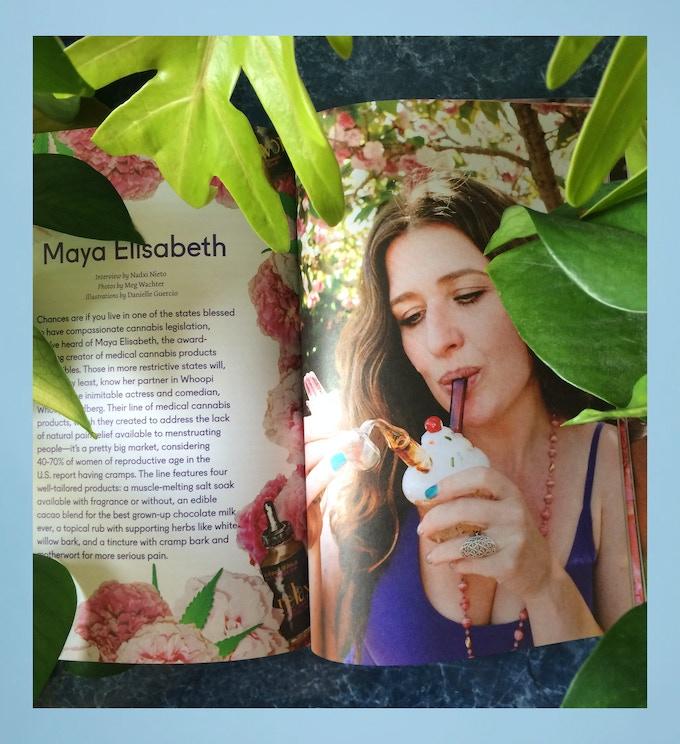 Maya Elisabeth of Whoopi&Maya in Issue 06