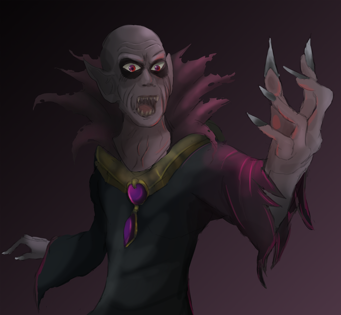 The count himself, created by one of our Concept Artists , Corey Garvin