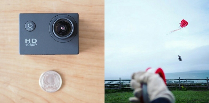 These lightweight cameras weigh only 58 grams.
