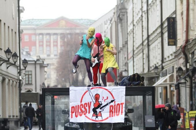 Original Pussy Riot print