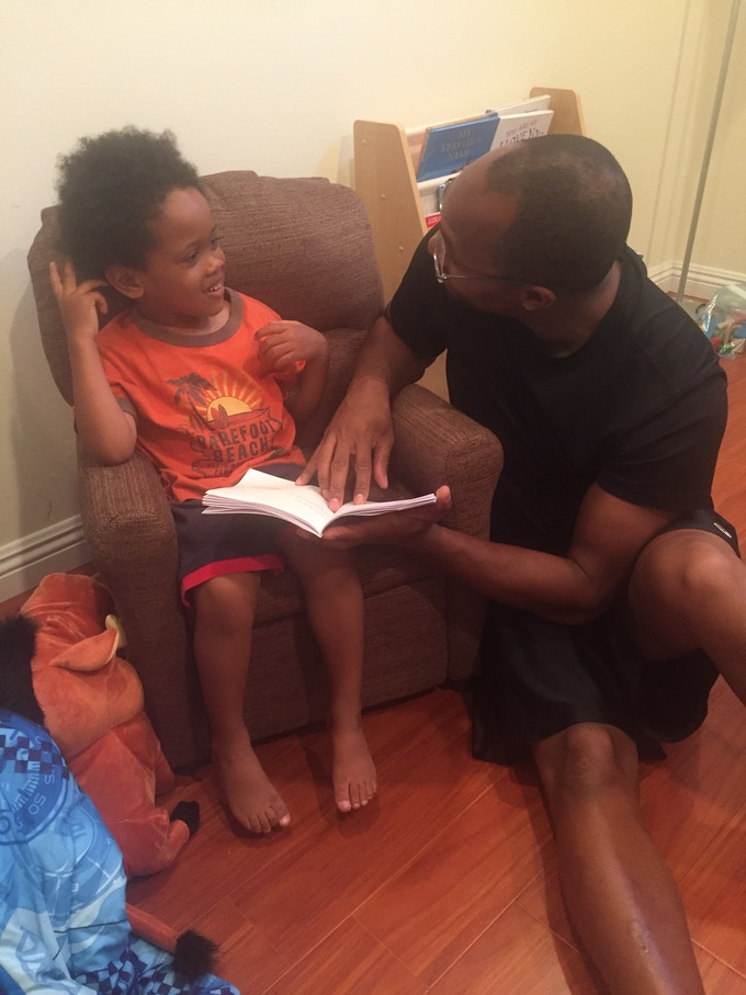 Father-Son bonding over code! Get a conversation going about how to CREATE technology!