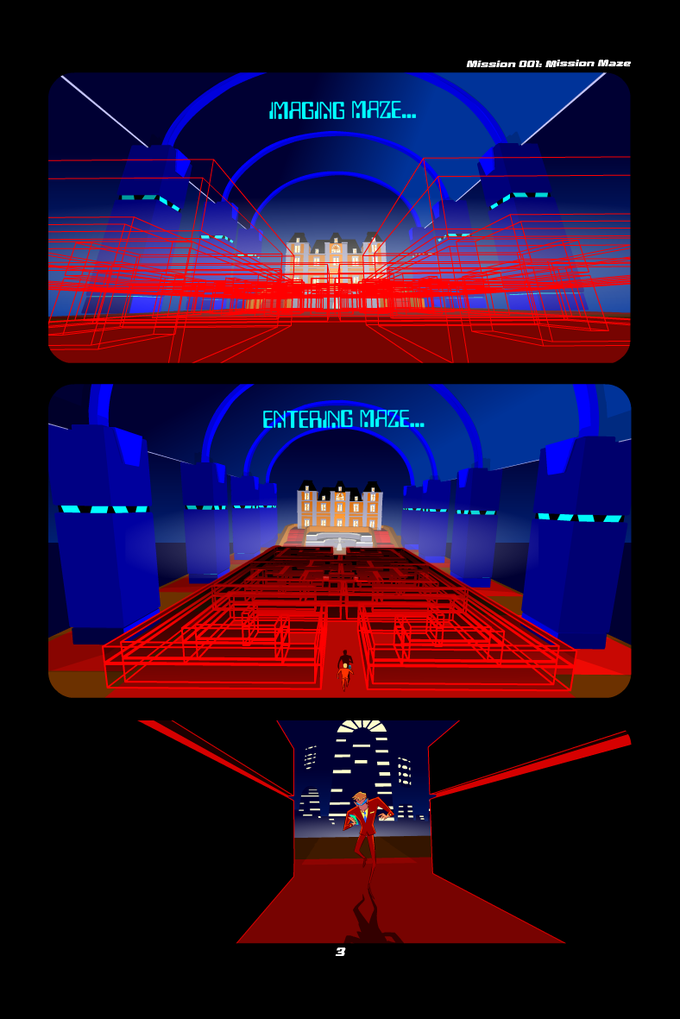 Enter the Mission Maze...