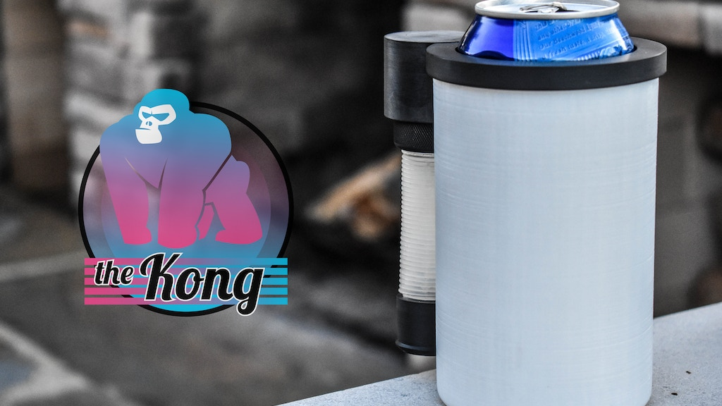 Project image for The Kong, the Worlds First can cooler Beer Bong (Canceled)