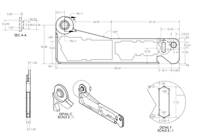 CAD wrench handle