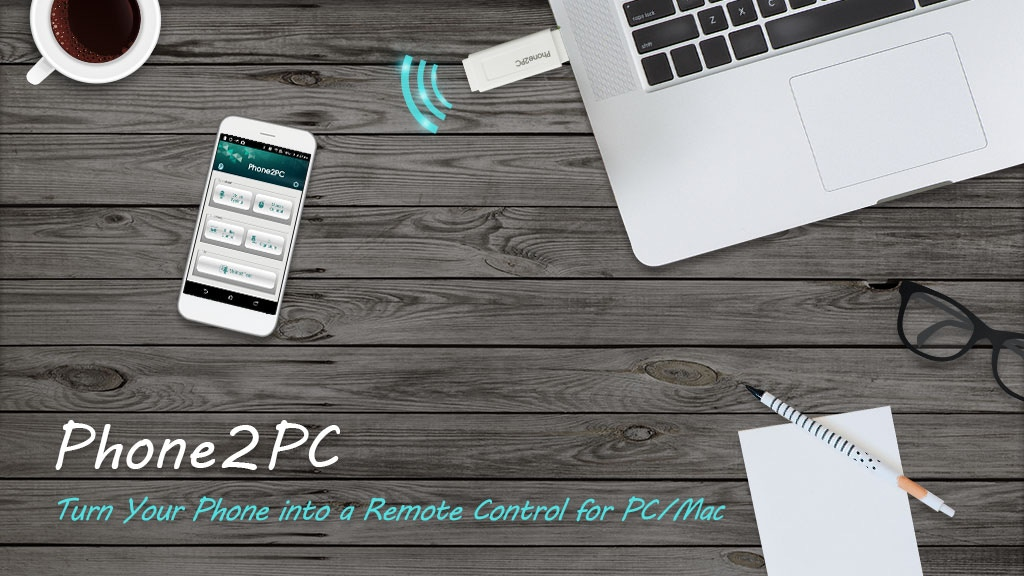 Phone2PC – Turn Your Phone into a Remote Control for PC/Mac project video thumbnail
