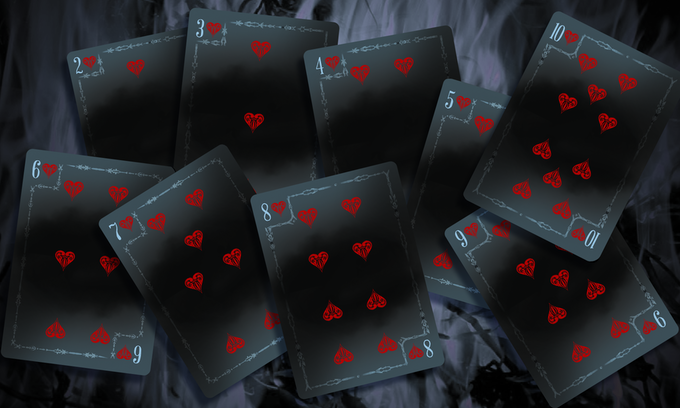 Conquest Numbered Cards