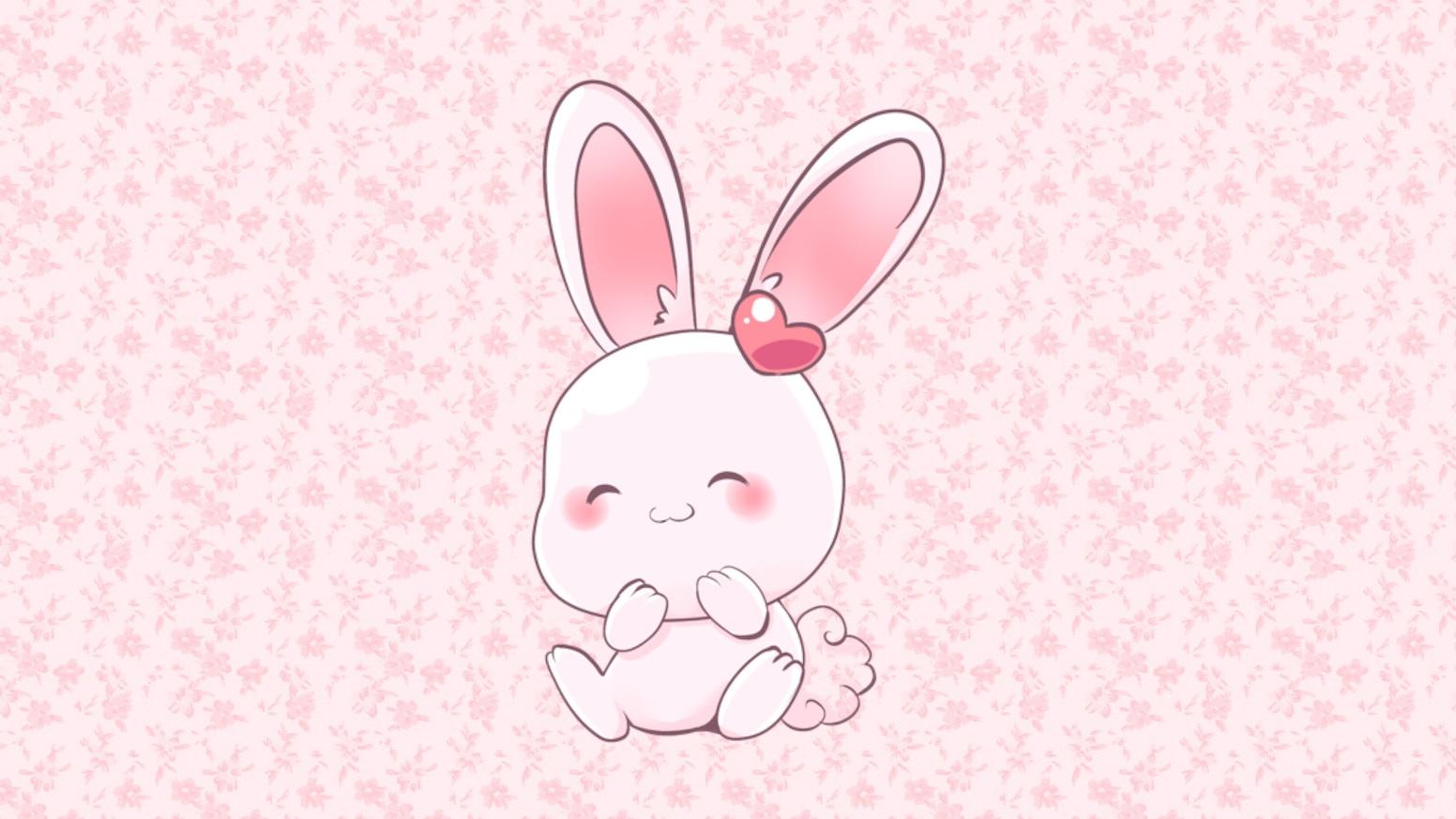 Kawaii Bunny Hard Enamel Pins By Ludogurumi Kickstarter