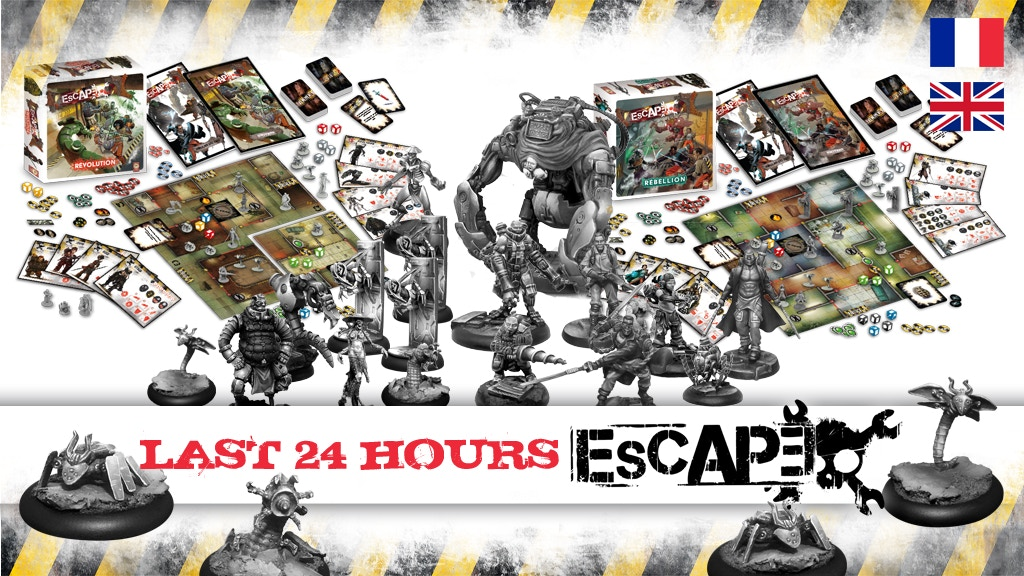 Escape the Boardgame 2nd Edition : Rebellion and Revolution project video thumbnail