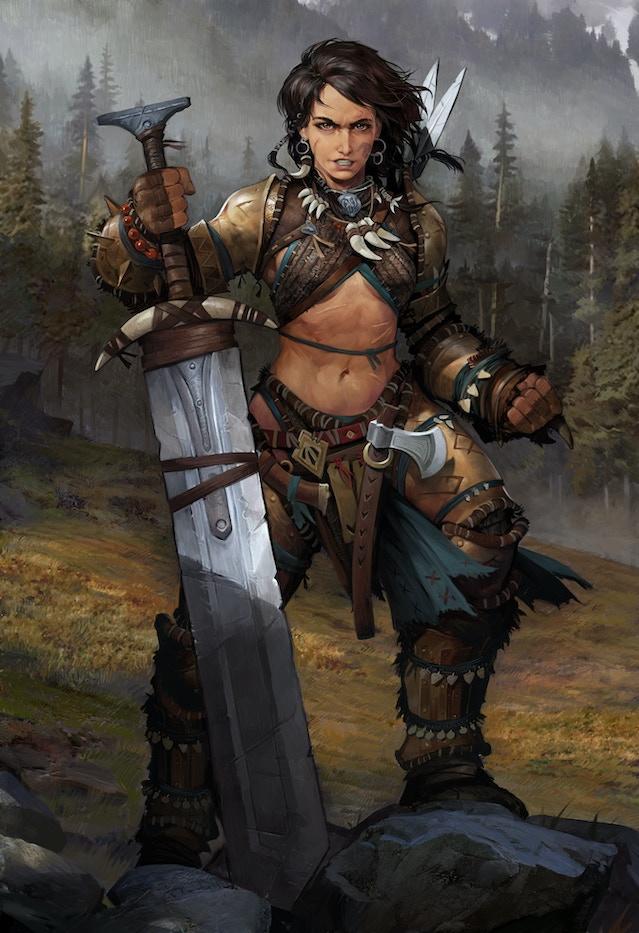 Pathfinder Barbarian Guide Compendium | Optibuilds.com