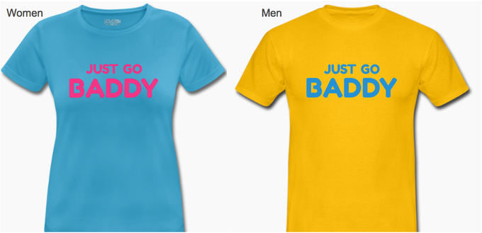 Your official BADDY T-Shirt