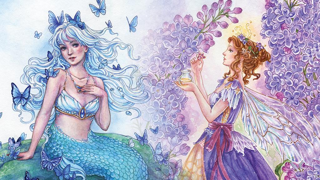 71d96b127640 A Fairy Enchanting 2018 calendar by Meredith Dillman project video thumbnail