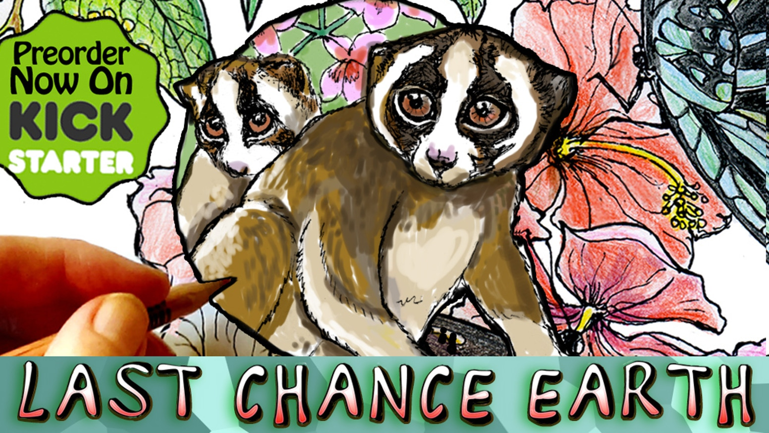 An all-ages coloring book to preserve our most extraordinary endangered species! See stretch goal for a better book & more rewards!