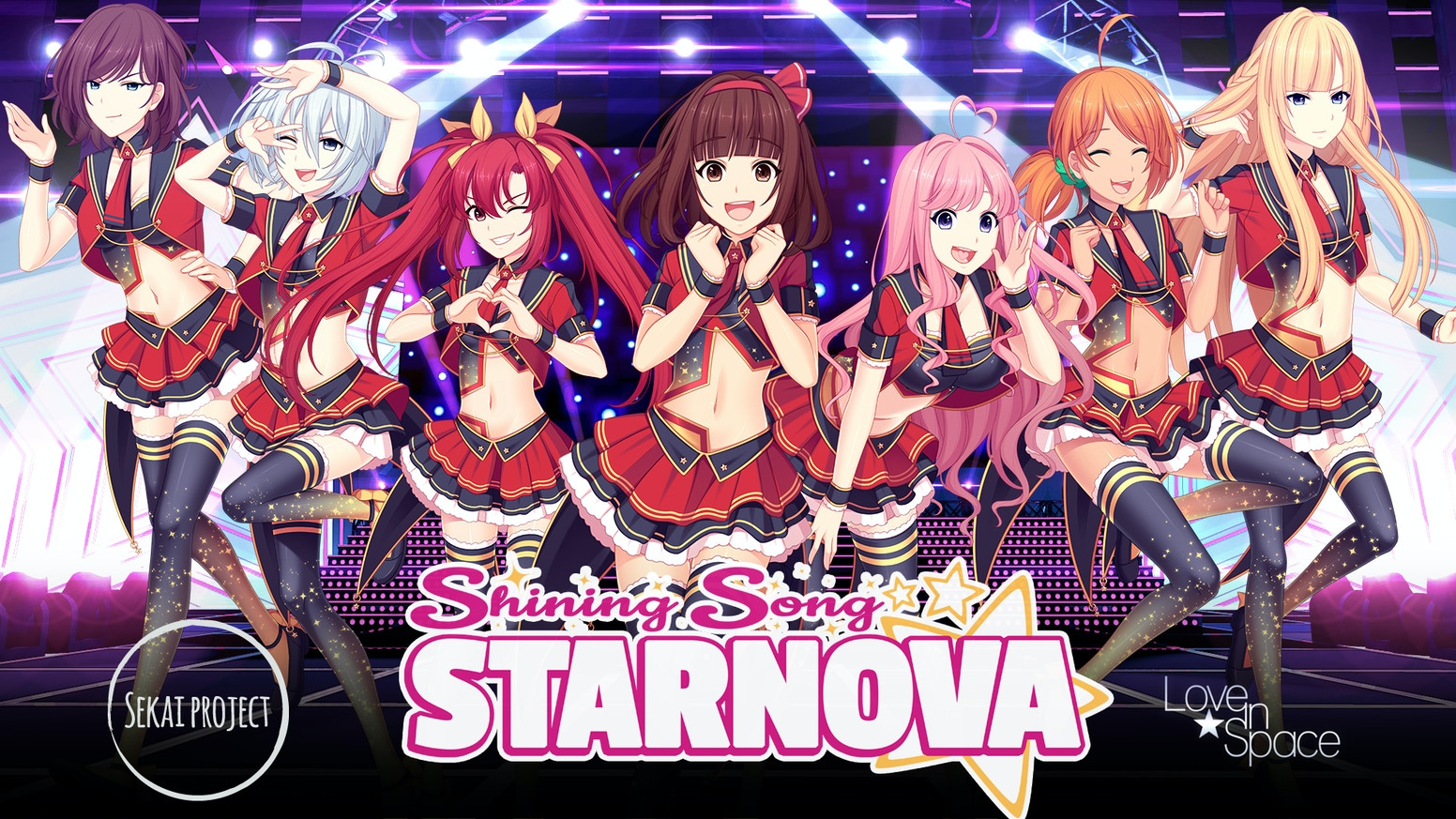 A shining and gripping visual novel all about the idol industry - from the creators of the Sunrider series!
