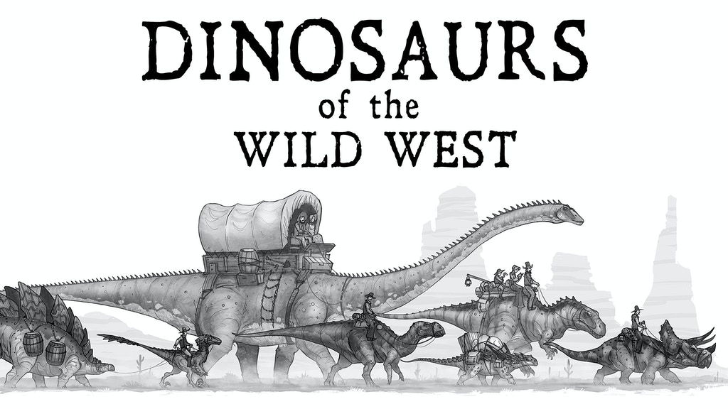 Dinosaurs of the Wild West by Shaun Keenan — Kickstarter