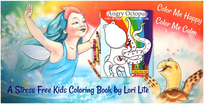 Add this coloring book by Lori Lite to your toolkit for just $10!
