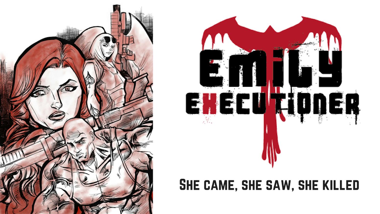 She came, She saw, She killed.