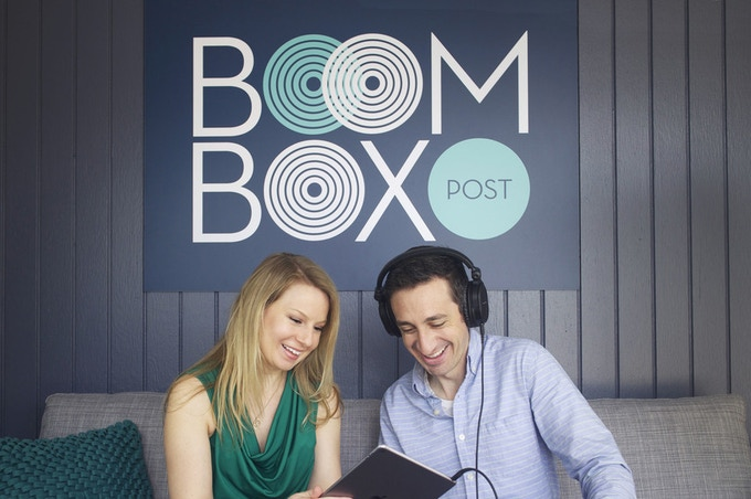 Kate Finan & Jeff Shiffman - Boom Box Post