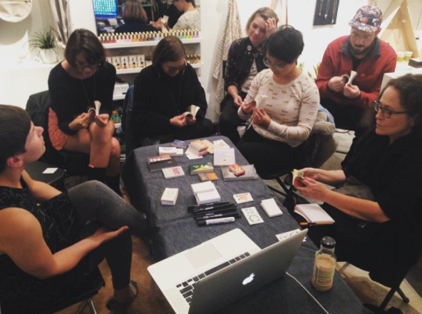 Making Flip Books with Jenni Rope in 2015