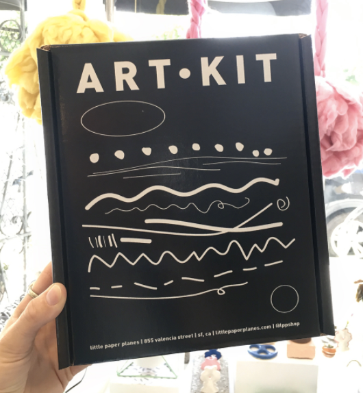 We will start offering a selection of art supplies including Art Kits that will have a set of everything you need to start drawing, painting, and more!