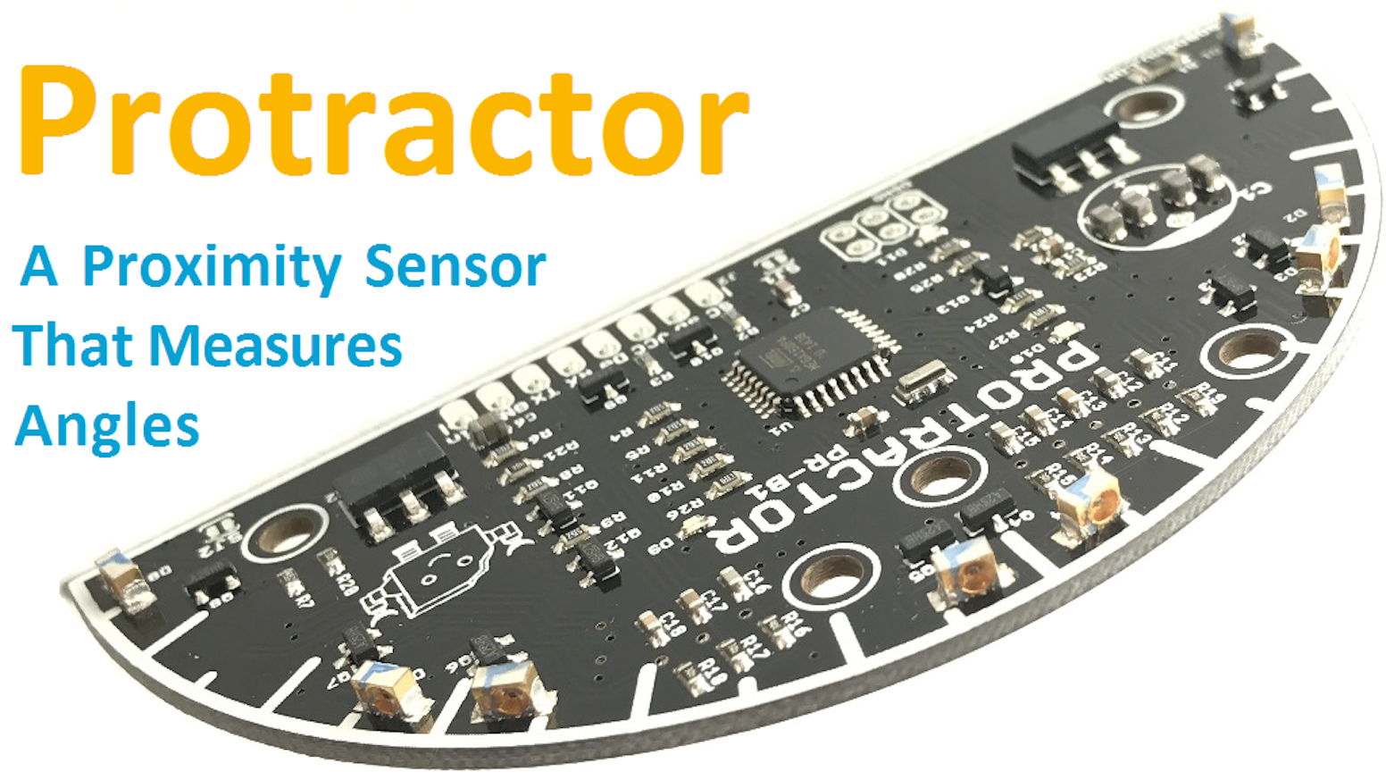 Protractor A Proximity Sensor That Measures Angles By William Moore How To Build An Infrared Distance Circuit Use Arduino For