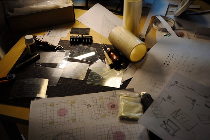 Behind the scene - Nums™ design drafts and prototypes.