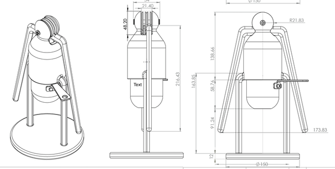 1st draft of the coffee maker project, Jan 2015